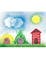 Faber-Castell - Blow Pen Stencil Art Kit - Premium Art Supplies For Kids