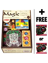 Discovery Magic Set + FREE Melissa & Doug Scratch Art Mini-Pad Bundle