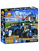 COBI Action Town Police Highway Patrol Set, 330 Piece Set