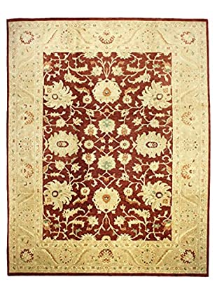 Bashian Hand Knotted Mansehra Rug, Rust, 9' x 11' 10