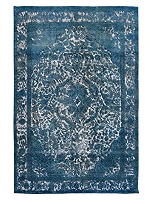 Kalaty One-of-a-Kind Pak Vintage Rug, Blue, 6' 6