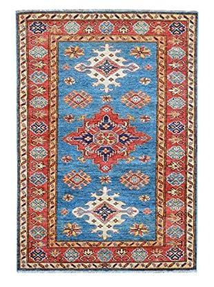 Kalaty One-of-a-Kind Kazak Rug, Blue, 2' 11