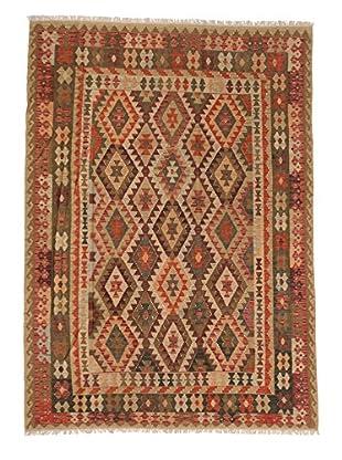 eCarpet Gallery One-of-a-Kind Anatolian Kilim Rug, Copper/Yellow, 6' 11