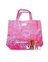 Estee Lauder Travel Set: DayWear Cream SPF15 + Bronze Goddess + Mascara + Lipstick #88 + High Gloss #07 + Pouch + Bag 5pcs+2bags