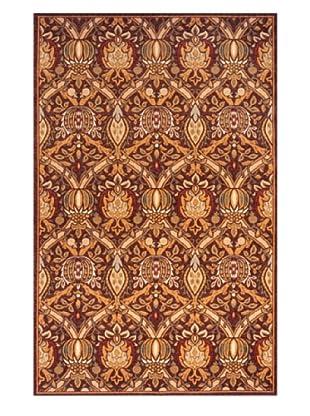 Momeni Art Nouveau Collection Rug (Cocoa)