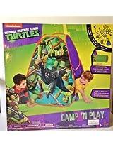 Teenage Mutant Ninja Turtles Camp n Play Hut Tent Nickelodeon
