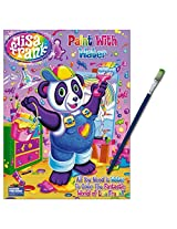 Lisa Frank Paint With Water Book with Green-Tip Paint Brush
