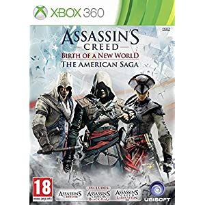 Assassin's Creed - American Saga (Black Flag/AC3/Liberation) XBOX 360 PAL VERSION (3 GAMES)