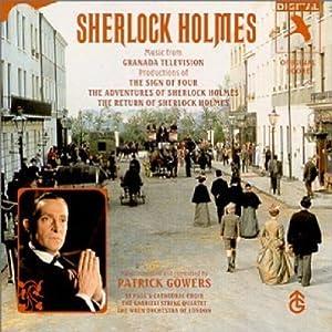シャーロック・ホームズのサントラCDのジャケット