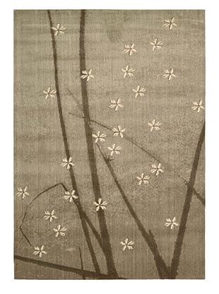 Calvin Klein Home Woven Textures Rug (Mushroom)
