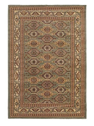 Royale Rug, Copper/Green, 5' 3