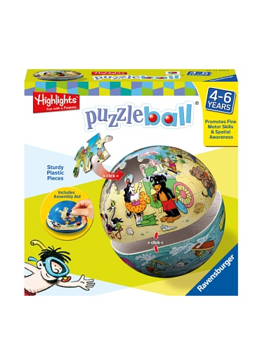 Ravensburger Highlights Land and Sea 24-Piece Puzzleball