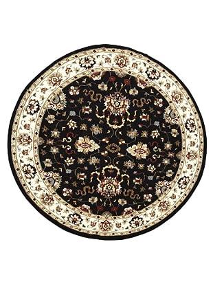 Kabir Handwoven Rugs Wonders Select Rug, Black Multi, 7' 6