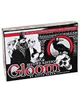 Gloom 2nd Edition Card Game _ with Bonus Gold cloth drawstring storage bag