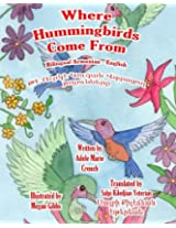 Where Hummingbirds Come From Bilingual Armenian English