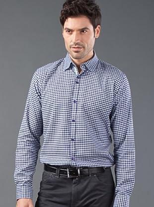 Roberto Verino Camisa Cuadros (Morado / Marino)