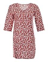 2Dots Women's Cotton Regular Fit Kurti (Multicolour, 38 Inches)