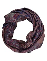 Ganesh Handicrafts Women's Silk Shawl (GH096, Multicolor)