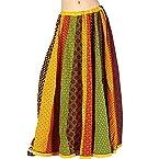 Little India Rajasthani Booties lehanga Skirt - DLI3SKT181 (Multi-Color)
