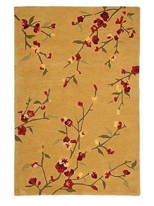 Jaipur Veranda Rug (Tan/Ruby)