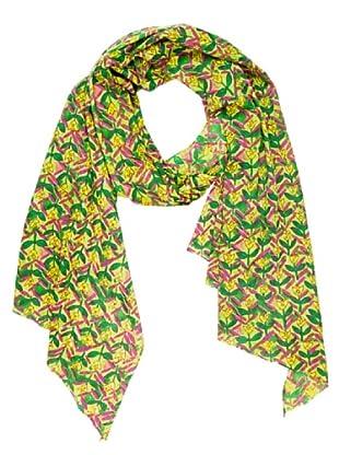 Mahal Foulard Clásico (Verde / Amarillo)
