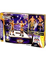 WWE Wrestling Exclusive Ring Playset WrestleMania XXX Superstar Ring [Includes John Cena & Triple H!