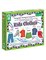 Key Education Publishing Kids Clothes Lacing Cards