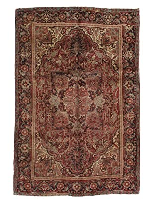 Rug Republic One Of A Kind Persian Serapi-Vintage Rug, Rust/Red/Brown/Ivory/Multi, 6' 8