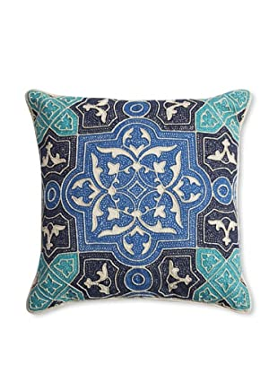 Barclay Butera Kenitra Throw Pillow, Blue, 18