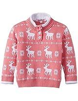 Nauti Nati Baby Girl's Sweater