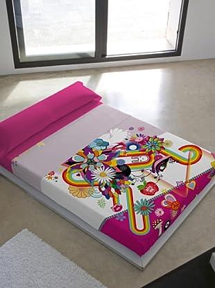 Kashi Kisu Juego de Sábanas Spring B (Multicolor)