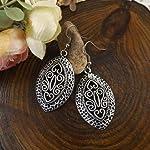 Damselcode - Tribal Oblong Earrings