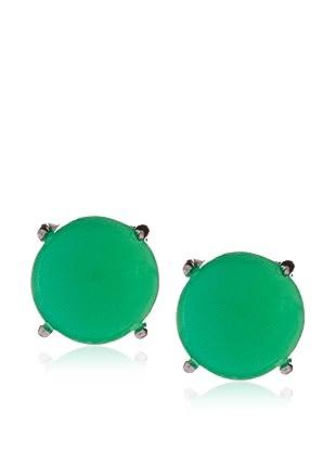 Anzie Chrysoprase Stud Earrings