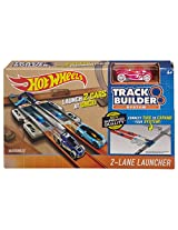 Hot Wheels Workshop Track Builder 2 Lane Launcher