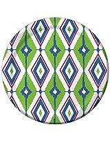 Creative Converting 8 Count Paper Dessert Plates, Diamond Ikat
