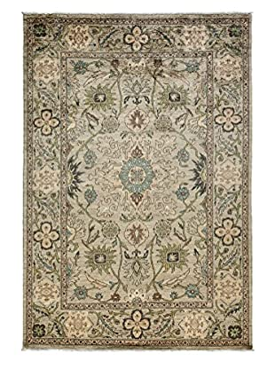 Solo Rugs Ziegler One-of-a-Kind Rug, Silver 6' 3
