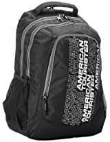 American Tourister Code Black and Grey Casual Backpack (R51 (0) 29 007)