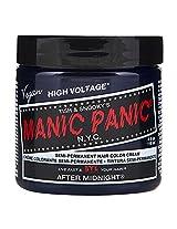 Manic Panic Semi Permanent Hair Color Cream After Midnight Blue 4 Oz