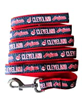 Pets First MLB Cleveland Indians Pet Leash, Large