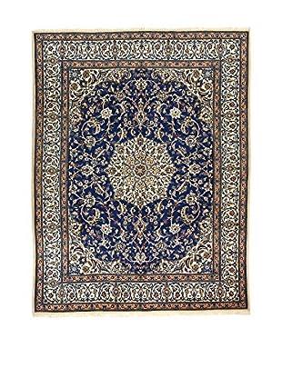 L'EDEN DEL TAPPETO Alfombra Nain Azul/Multicolor 197 x 252 cm