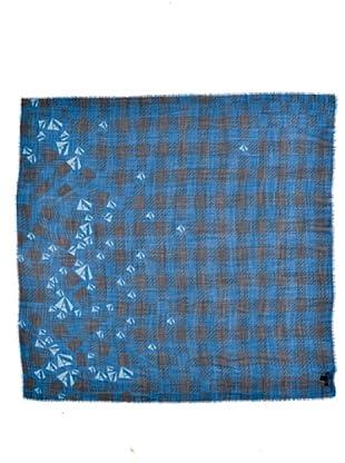 Aquascutum Pañuelo Forte Dei Marmi Azul / Negro