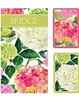 Endless Summer Bridge 2 Score Pads Gift Set Playing Cards (Jumbo Type)