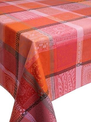 Garnier-Thiebaut Mille Wax Tablecloth (Sunset)