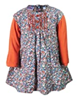 Nauti Nati - Floral Print Frock With Inner T Shirt