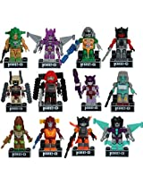 Transformers Kre-O Micro Changers - Complete Set Of 12 Mini-Figures (Series 4)