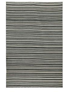 Jaipur Rugs Pacifico Flat Weave Rug (Ebony/Green)
