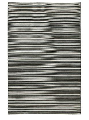 Jaipur Rugs Flat-Weave Stripe Wool Rug