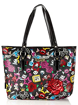 Tokidoki Shopping Bag Yankee schwarz