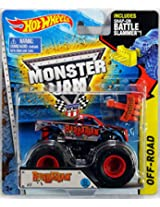 Hot Wheels Monster Jam #17 Barbarian Battle Slammer