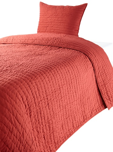 Amity Home Abel Twin Quilt Set (Red)